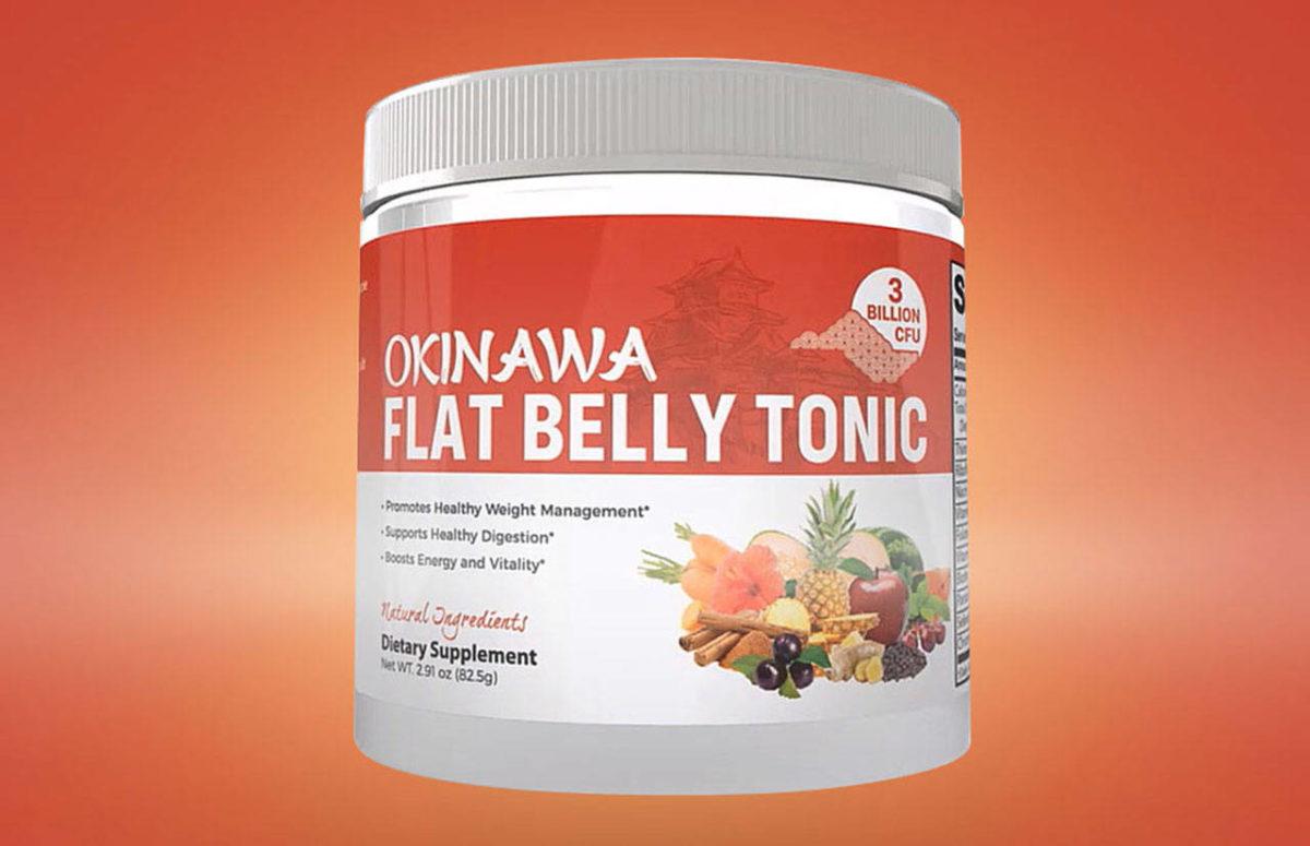 Okinawa Flat Belly Tonic Supplement